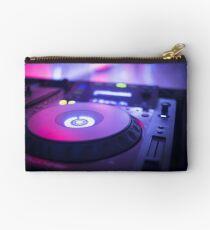 House dance music dj deejay turntable mixing desk nightclub party Ibiza Studio Pouch