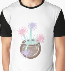 THISTLES IN BROWN BOWL Graphic T-Shirt