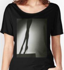 Female Nude Silhouette Mittelformat Hasselblad Silber Gelatine Loose Fit T-Shirt