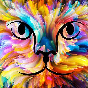 Watercolor Cat by ssduckman