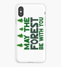 May The Forest Be With You iPhone Case/Skin