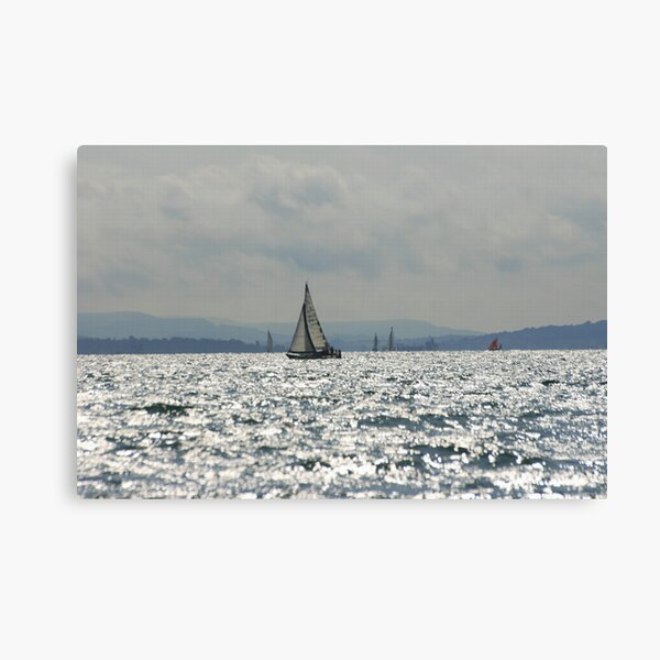 West Sussex Coast Canvas Print