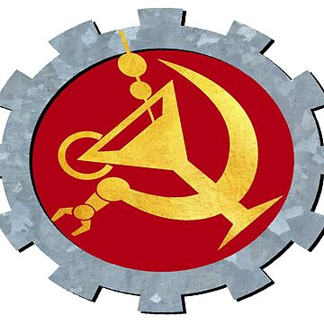 Fully Automated Luxury Communism (textured) by Hughbris