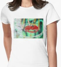 Red Kiss Women's Fitted T-Shirt