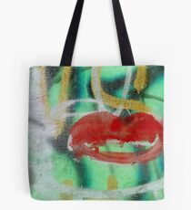 Red Kiss Tote Bag