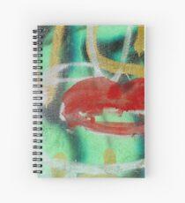 Red Kiss Spiral Notebook