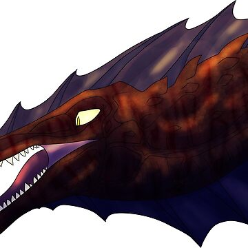 Spinosaurus / Dinosaur Head by Sonorouss