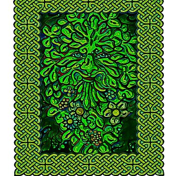 The Celtic Green Man by potty