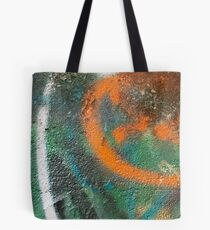 Orange Disc Tote Bag