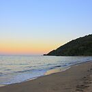 Ella Bay Sunset by Ron  Wilson