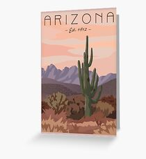Travel Arizona Greeting Card