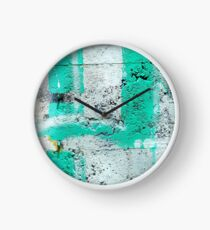 Green Stripe Clock