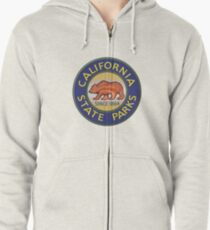 California Department of Parks and Recreation Zipped Hoodie