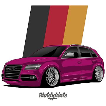 Sport Q5 (pink) by MotorPrints