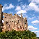 Laugharne Castle by Stephen Peters