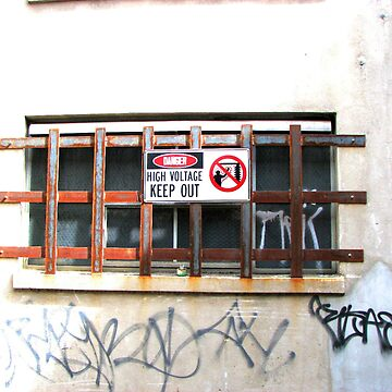 High voltage - keep out by Jouer