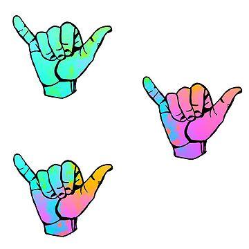 tiny lil shaka hands part THREE by lolosenese