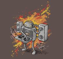 Robot DJ is in the House! by Ine Spee