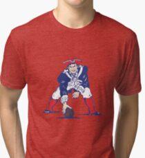 Camiseta de tejido mixto Patriotas del NE Retro