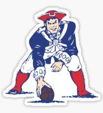 NE Patriots- Retro Sticker