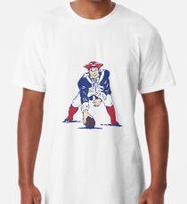 NE Patriots- Retro Long T-Shirt