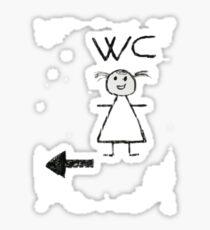 WC T-Shirt Sticker