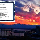 Solstice Sunset - Elliott Bay - Seattle - The Purple Light - Poem by Kenneth S Lapham