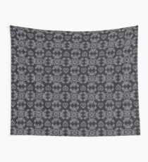 Flower And Heart Thai Pattern Wall Tapestry
