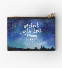 Stars In Our Eyes - Libra Studio Pouch