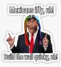 6ix9ine Trump Sticker