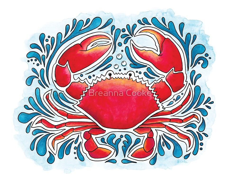 Red Crab  by Breanna Cooke