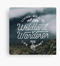 Wildland of Wanderer Canvas Print