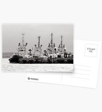 waiting tugs Postcards