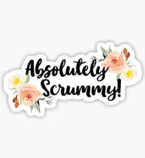 Absolutely Scrummy! Sticker