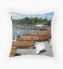 BOWNESS  ROWING BOATS  Throw Pillow