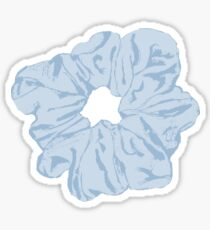 Blue Scrunchie Sticker