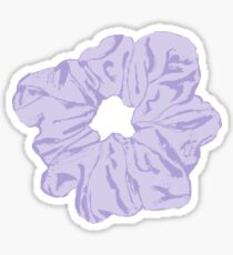 Purple Scrunchie Sticker