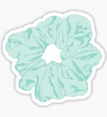 Green Scrunchie Sticker