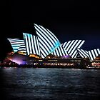 Vivid Festival - Black & White Stripes,Australia 2018 by muz2142