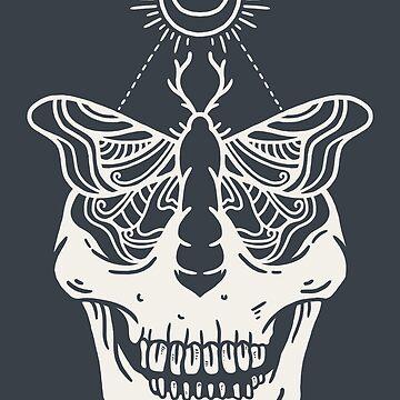 The dark moth by merupa
