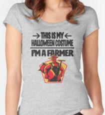 Farmer Halloween Costume Idea I'm a Farmer Women's Fitted Scoop T-Shirt