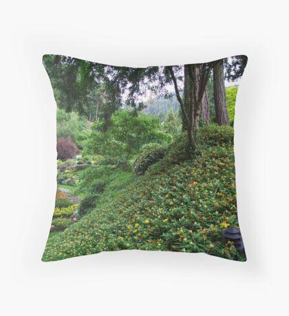 Sunken Garden No.4 Throw Pillow
