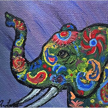 Whimsical Elephant by Creatividad