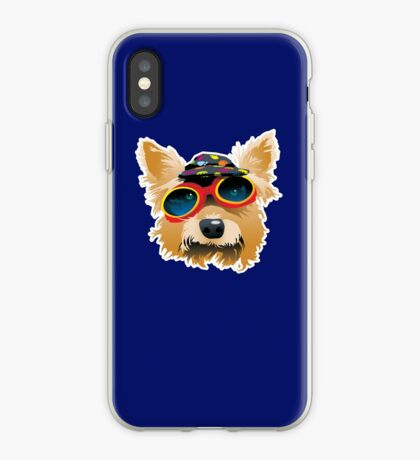 Sun Smart Puppy iPhone Case