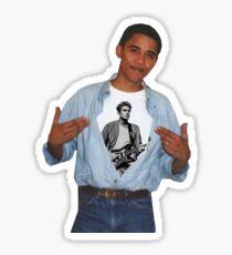 Obama John Mayer Sticker