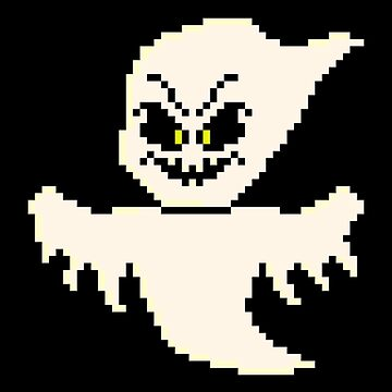 Pixel Monster Ghost by gkillerb