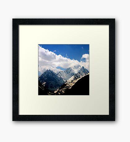 Cold Col Framed Print
