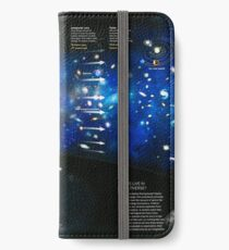 Cosmic Questions. Timeline of the Universe ⛔ HQ quality iPhone Wallet/Case/Skin