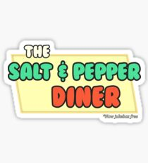 The Salt and Pepper Diner *Now Jukebox Free* Sticker
