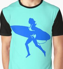 surfing girl Graphic T-Shirt